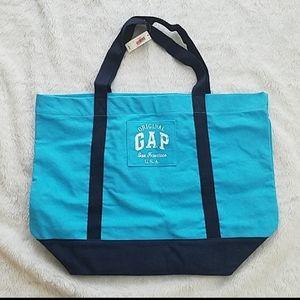 NWT Gap canvas beach bag tote